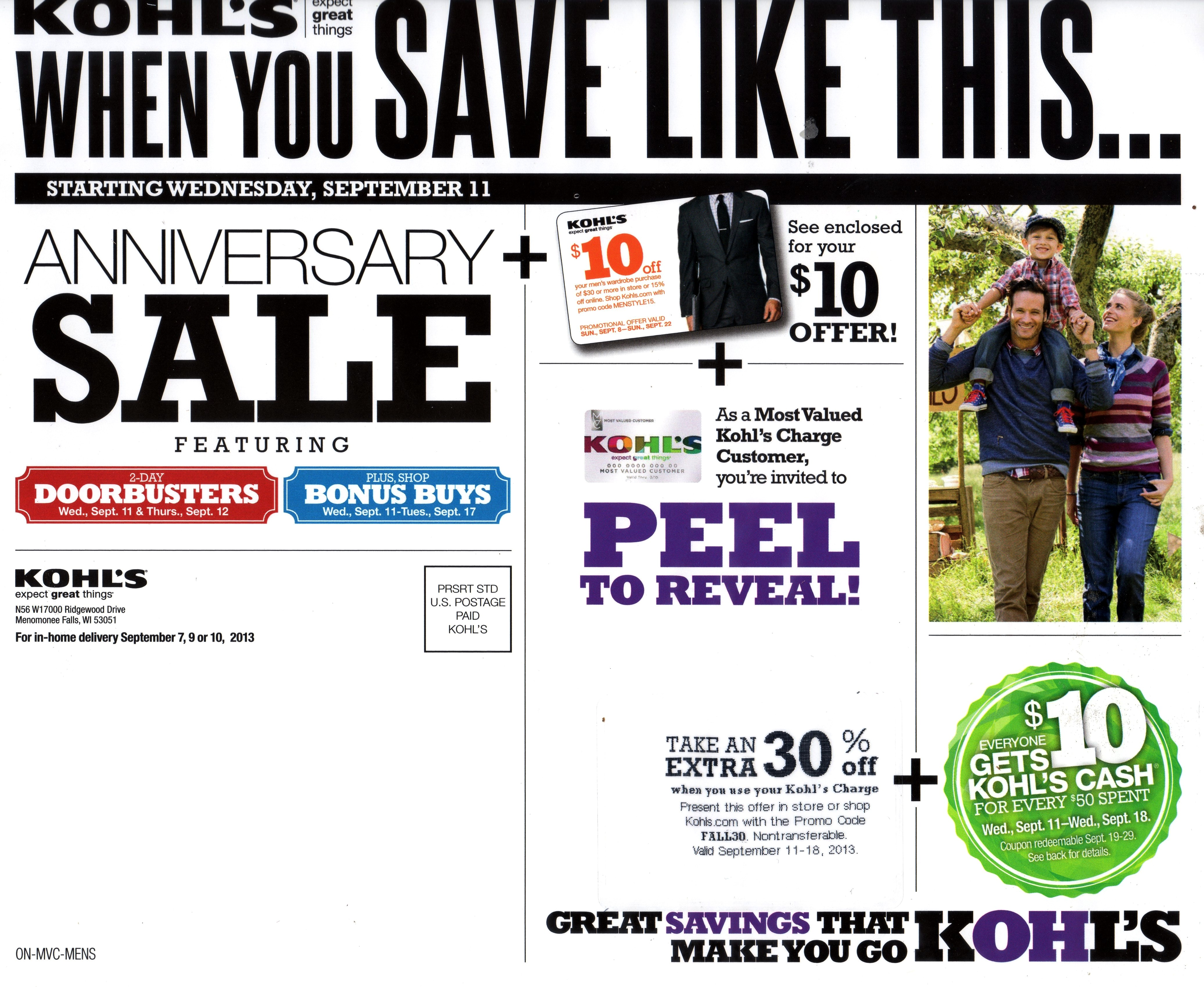 picture Kohl 39 s Coupons Extra 30 off Free Shipping for Kohl 39 s