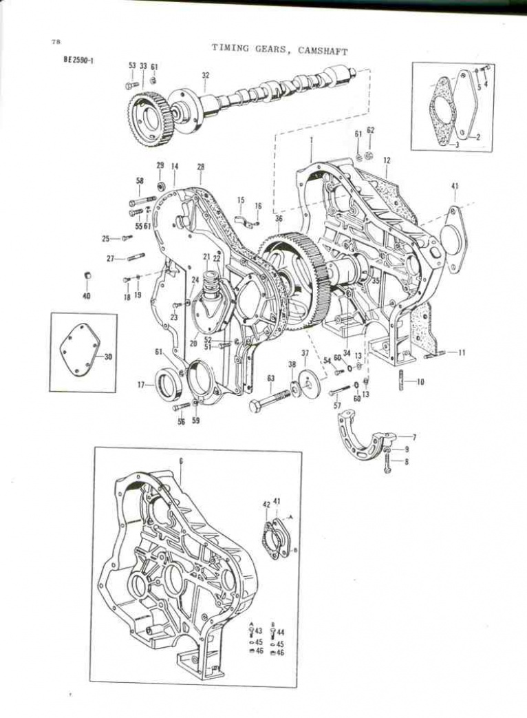 Parts Online Massey Ferguson Ford Tractor Battery Wiring Diagram Images Of
